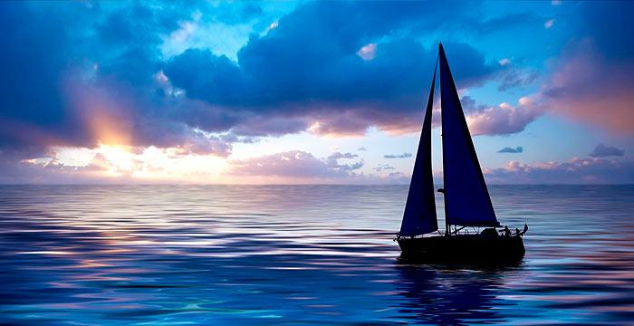 Segelboote in Kroatien