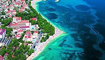 Baška Voda pláži