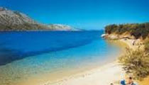 Rab beach