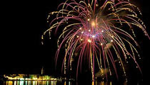 Novigrad fireworks