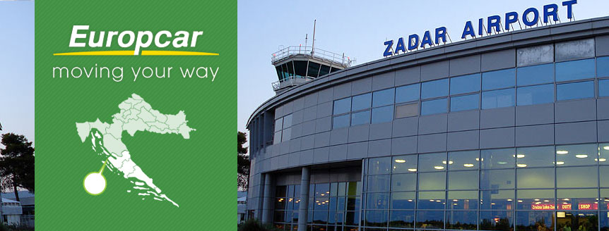 Rent a Car on airport Zadar