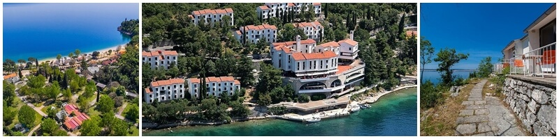 Holiday resorts in Kvarner