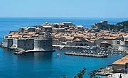 Vecchie mura della città di Ragusa (Dubrovnik)