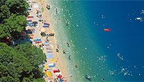 Makarska sea