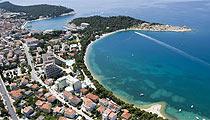 Makarska pláži