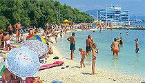 Trogir pláži
