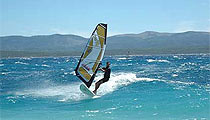 Surfing Brač