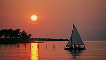 Novigrad puesta de sol