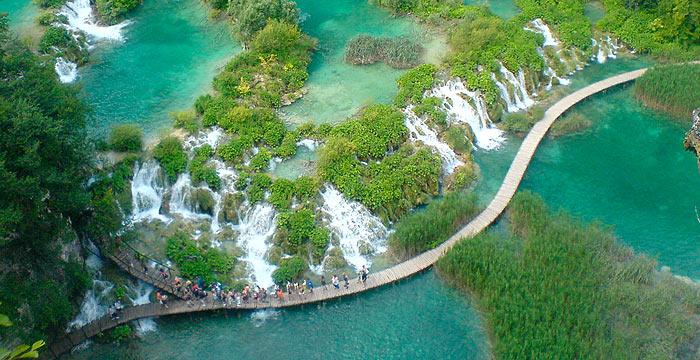 Nationalpark Plitvicer Seen Karte.Plitvicer Seen Urlaub In Plitvicer Seen In Ferienhaus Und
