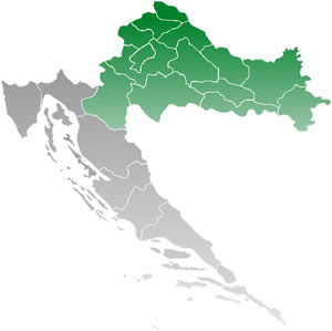 La Croazia centrale