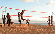 Beach-Volleyball in Kroatien