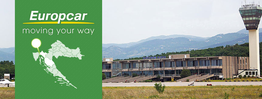 Rent a Car on airport Rijeka (Krk)